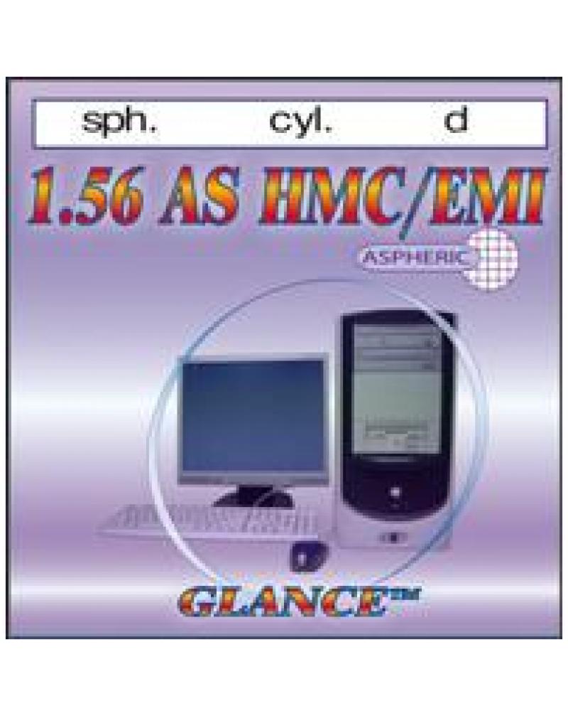 Glance 1.56 AS HMC/EMI/UV400 Линза астигматическая асферическая