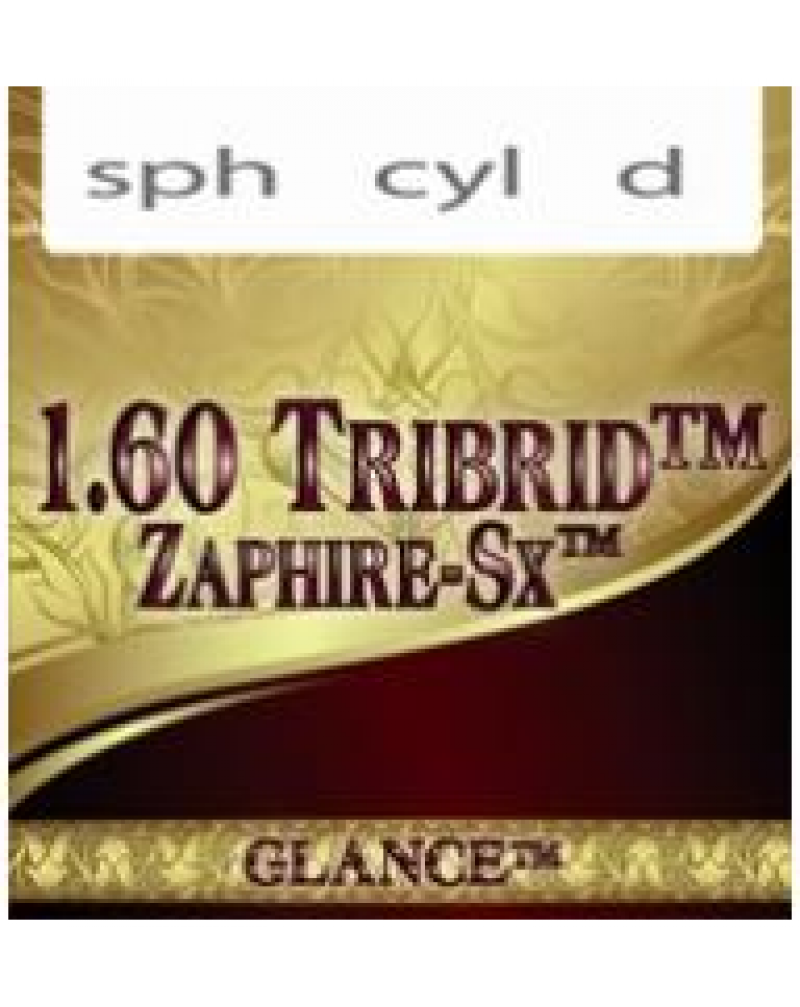Glance 1.60 Tribrid Zaphire-SX Линза астигматическая суперпрочная