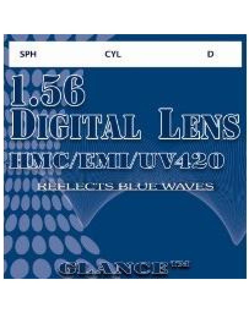 Glance 1.56 Digital lens SHC/HMC/EMI/UV400