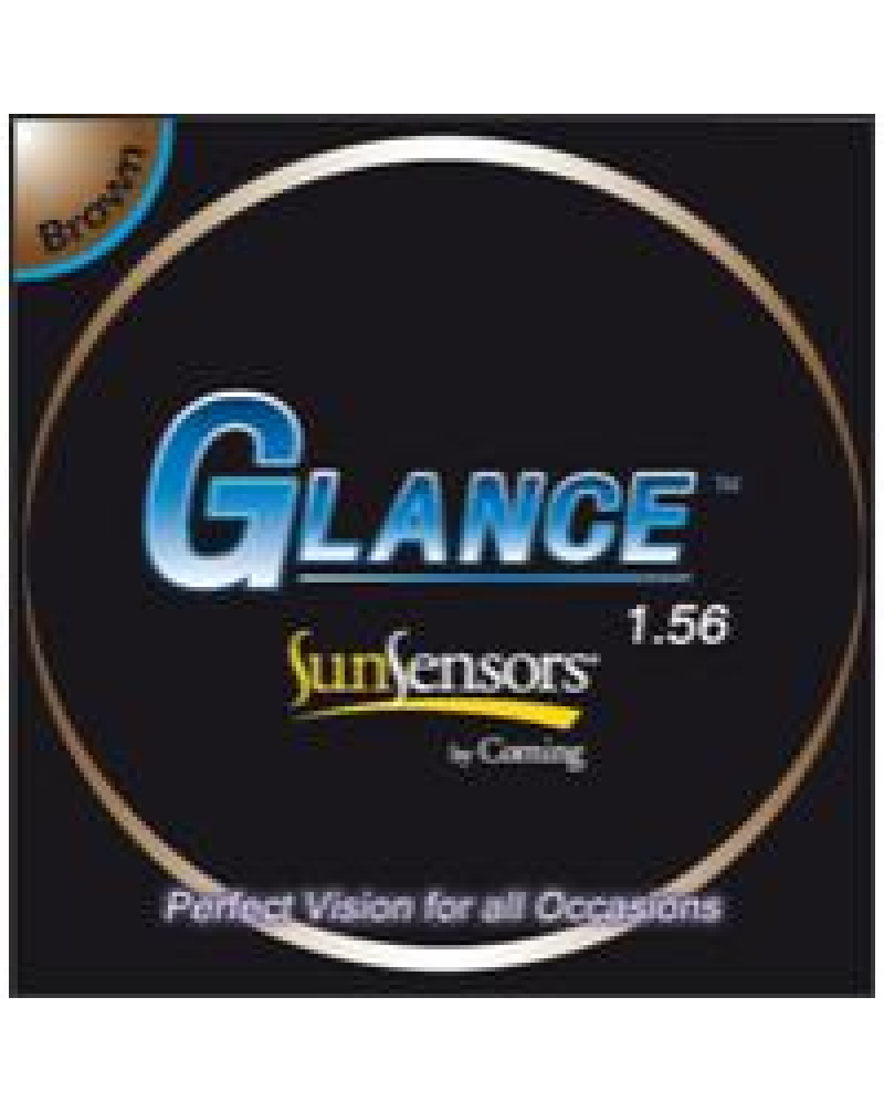 Glance SunSensors 1.56 HMC/EMI/UV400 Grey/Brown