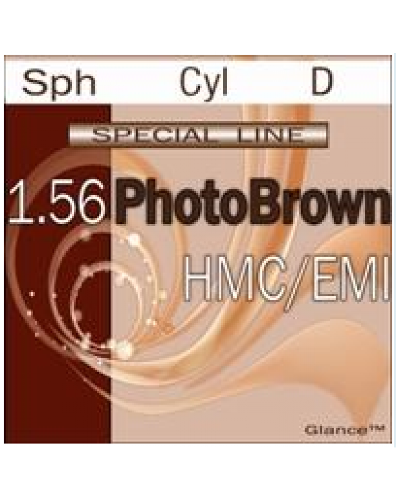 Special line Glance PhotoGrey/PhotoBrown 1.56 HMC/EMI/UV400