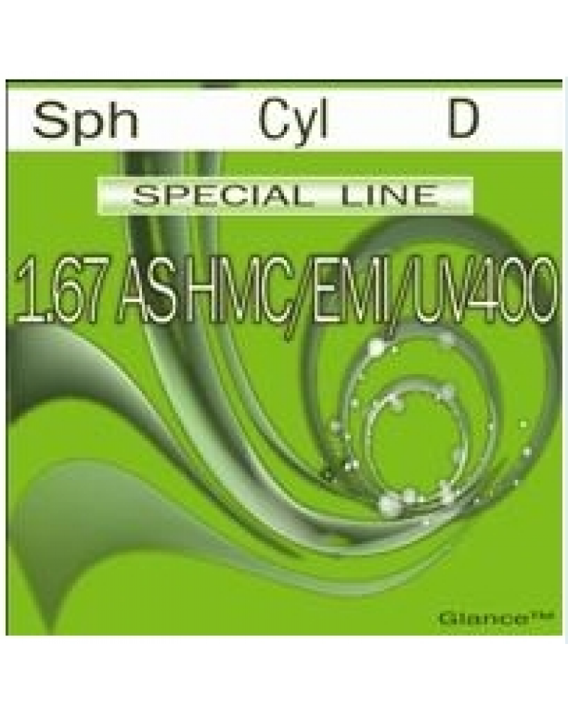 Special line Glance 1.67 AS HMC/EMI/UV400