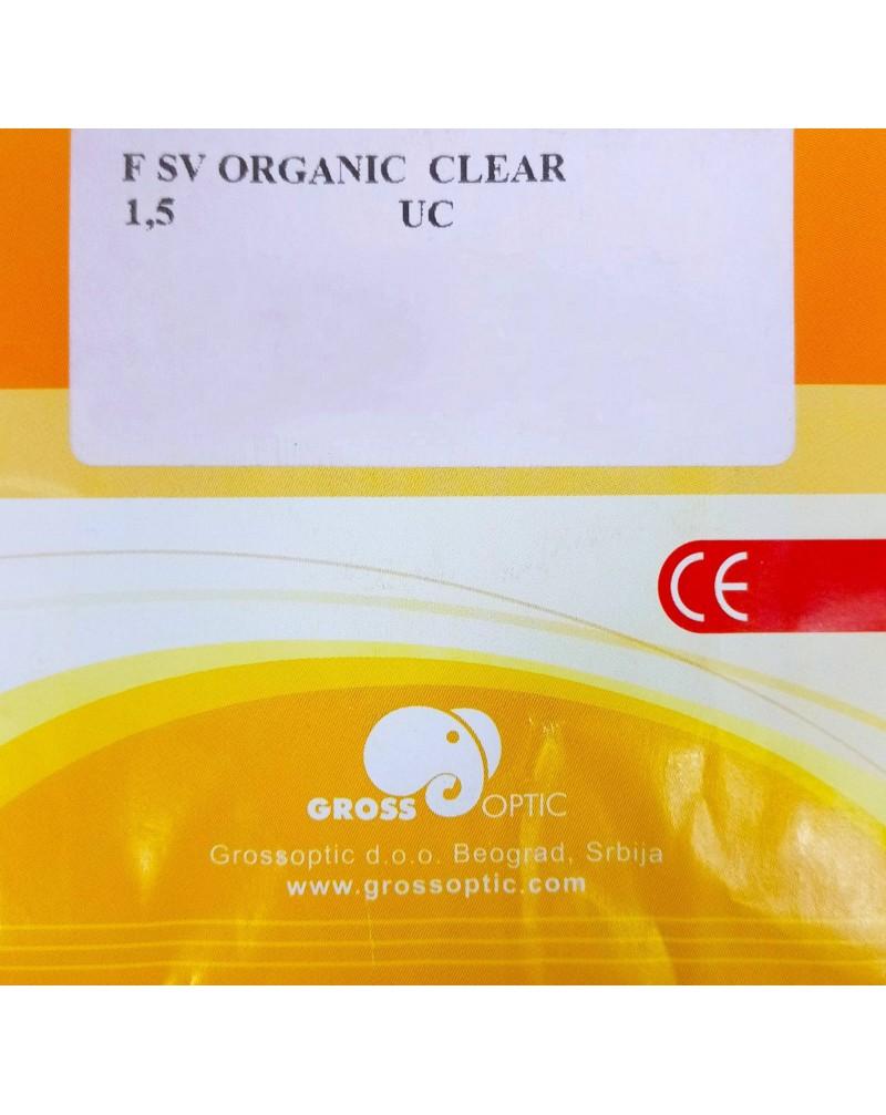 ORGANIC CLEAR 1.50