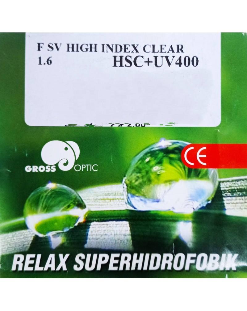 RELAX SUPERHIDROFOBIK 1.60 HSC/HMC/EMI/UV400
