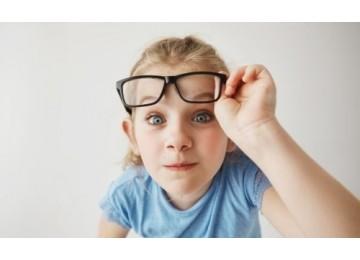 Детские оправы для очков из прорезиненного пластика